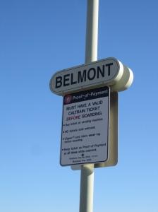 belmont sign